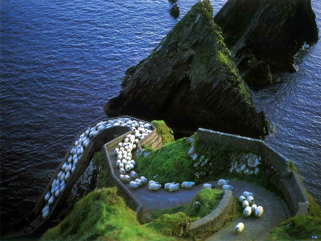 The Dingle Peninsula is a beautiful destination in Ireland