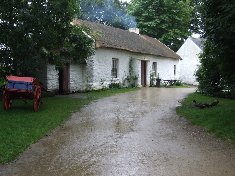 The Ulster American Folk Park is located in County Tyrone.