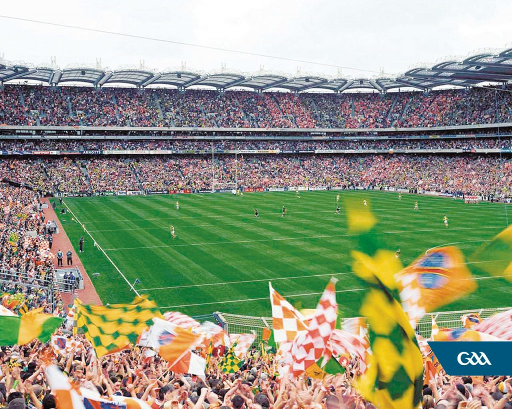 The Croke Park GAA finals are another of the best of Ireland's tourist attractions.