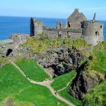 Dunluce Castle, Co. Antrim.