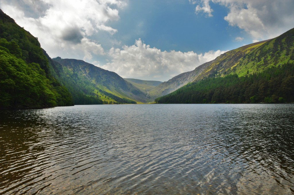 Gglendalough is a top 10 place in Wicklow