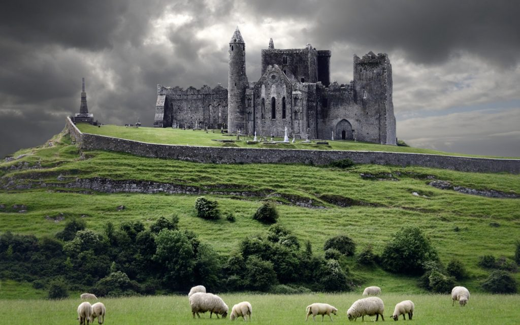 The Rock of Cashel in County Tipperary