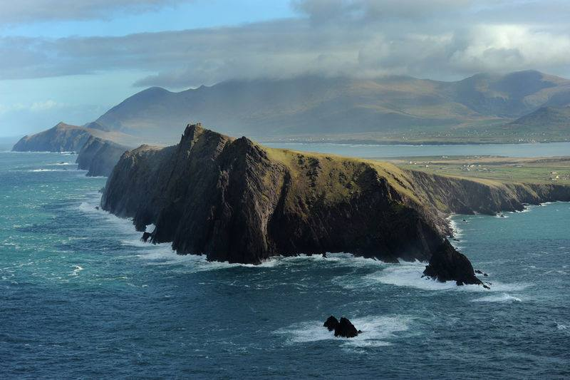 Irish countryside all around, the Dingle Peninsula is truly one of the most magical places to visit in Ireland.