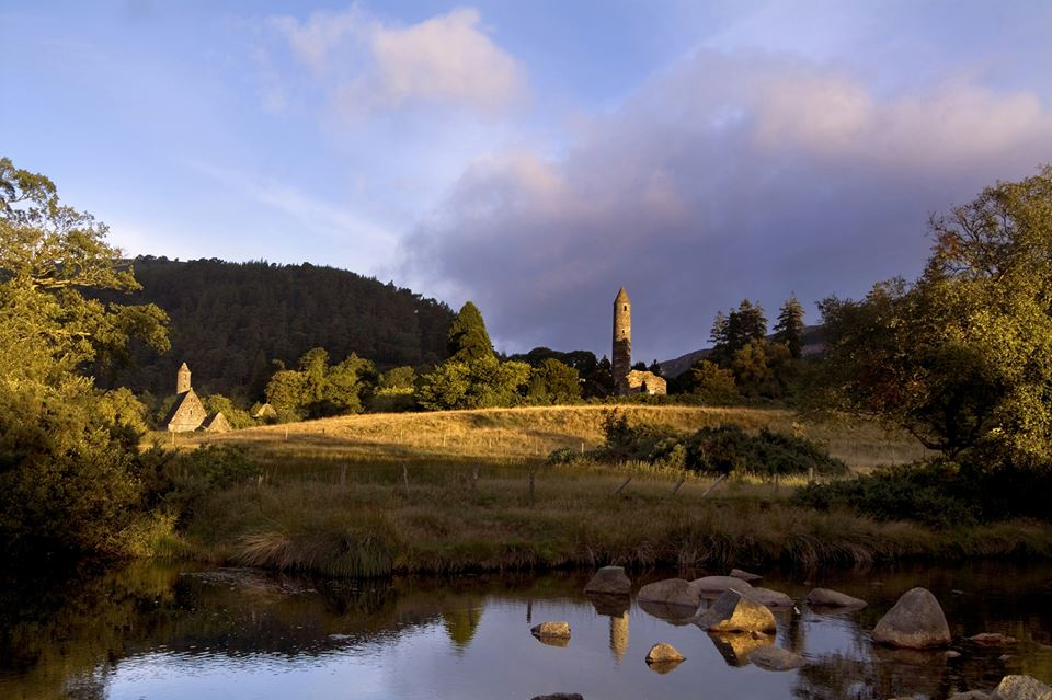 Glendalough is one of Ireland's most ancient monastic sites and was raided by Vikings in the past.