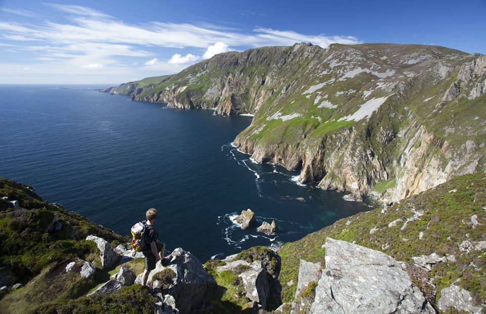 The Slieve League Cliffs are another of the top and best things to do in Ireland.