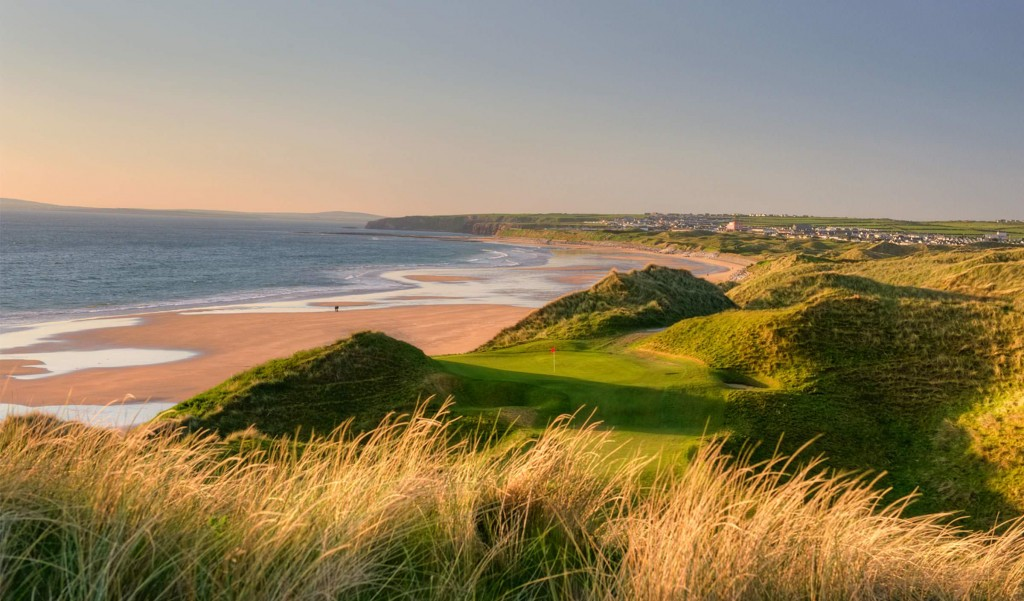 Ballybunion is one of the best surfing spots in Ireland.