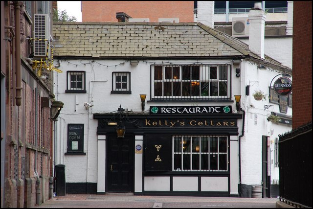 A staple of Belfast Nightlight, Kelly's Cellars is a top pick of best old and authentic bars in Belfast.