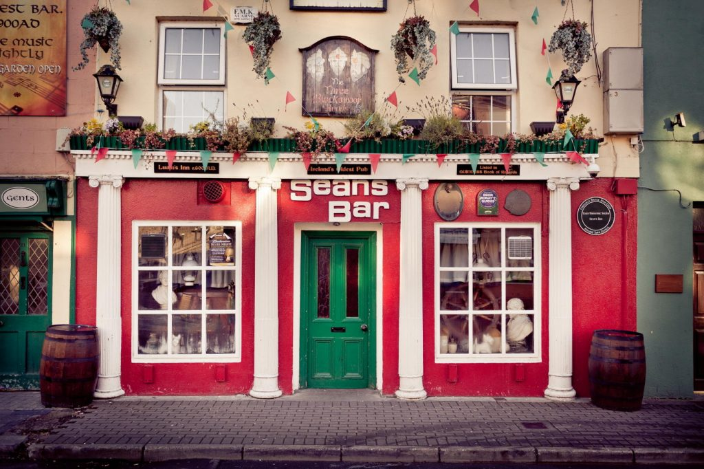 Sean's is the oldest bar in Ireland and is one of the best Irish pubs.