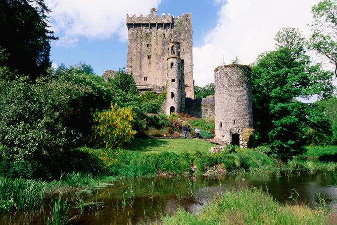 Blarney Castle is home to the Blarney Stone, a historical block that is rumoured to give those who kiss it the gift of the gab.