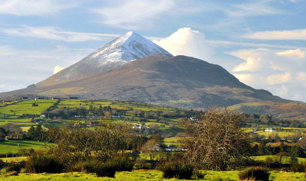 Croagh Patrick is on the top 10 best places to see in Mayo