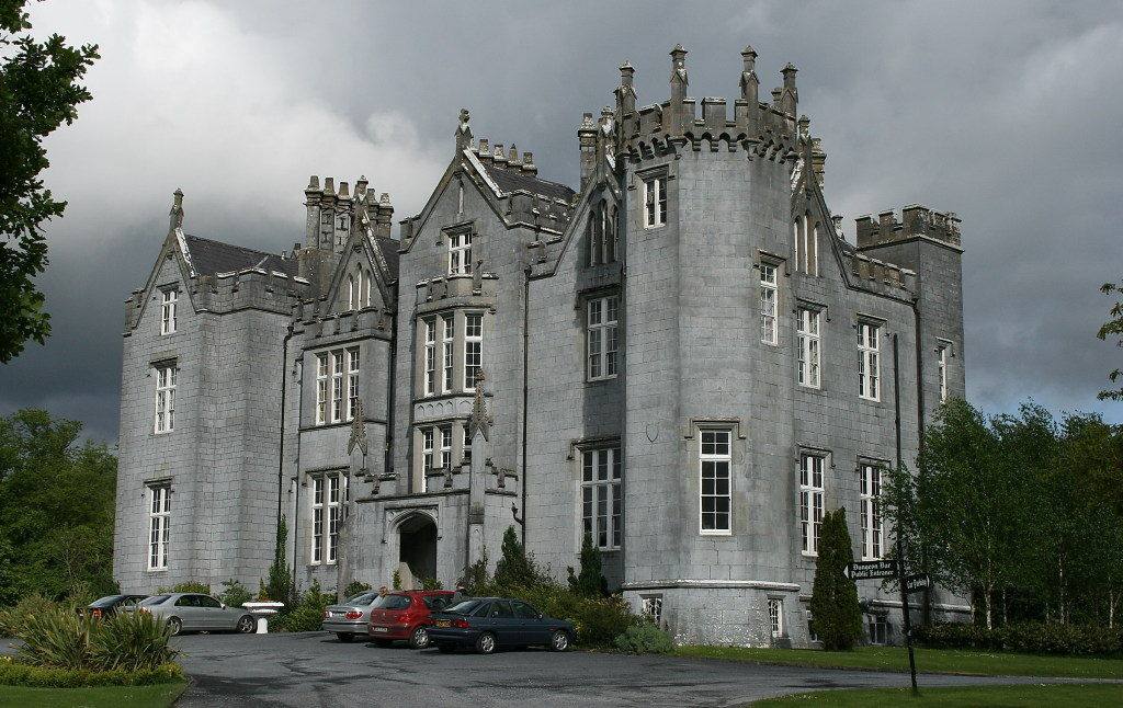 Haunted by a phantom monk, Kinnitty Castle is one of the most widely regarded haunted places in Ireland.