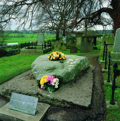 Saint Patrick's Grave