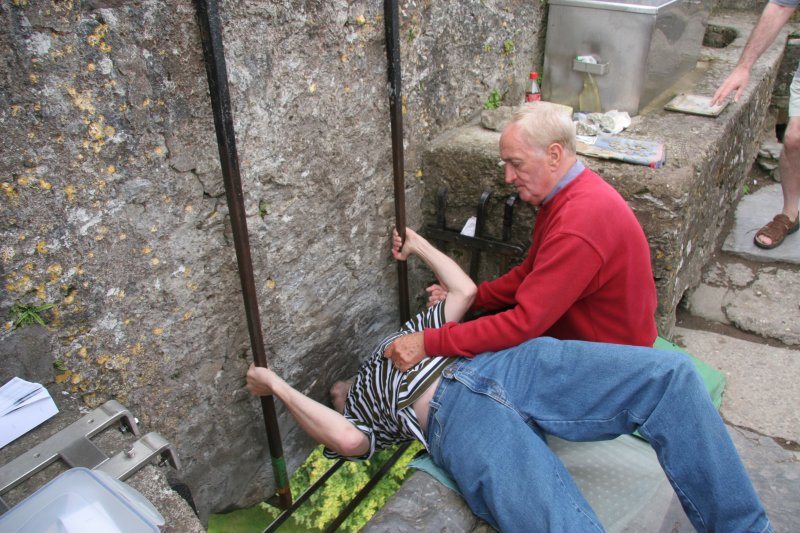 The Blarney Stone is one of Ireland's top tourist attractions