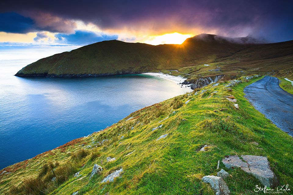 Keem Bay, the number one out of the top ten places to see in county mayo.