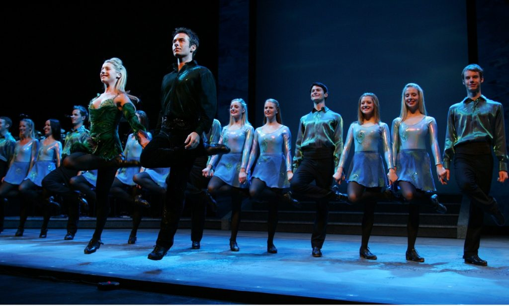 Riverdance is another of the top places to visit in Ireland, known for its iconic dance.