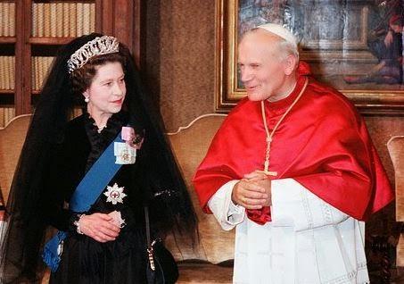 Queen Pope John Paul II
