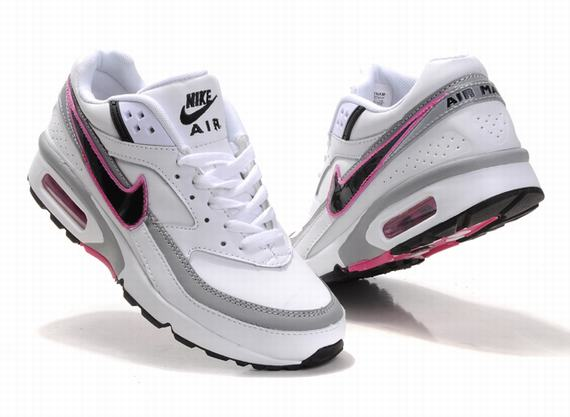 best authentic c434c 4e443 ... germany kunming womens nike air max classic bw 2011 white gray black  pink a52q73 582 4e875