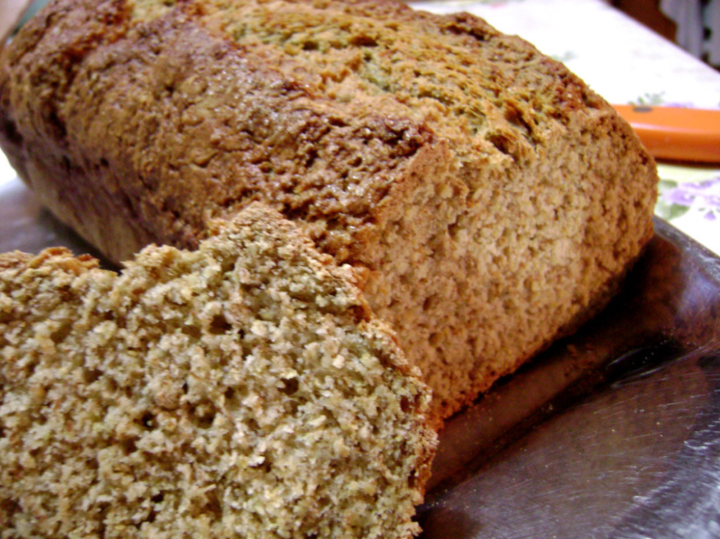 Irish wheaten or brown soda bread is the most common type of bread in Ireland