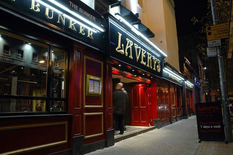 Lavery's is a popular watering hole in the capital of Northern Ireland