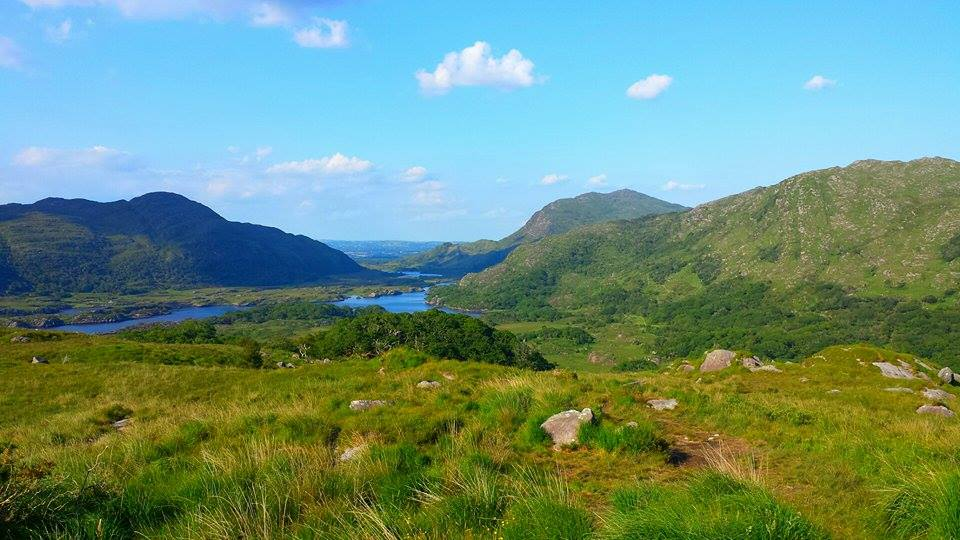 Ladies View is a great stop along your road trip through the county of Kerry.