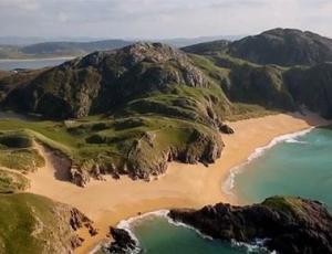 Stunning aerial footage of the West coast of Ireland