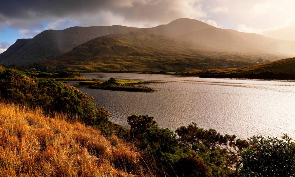 Connemara lakes, Co. Galway