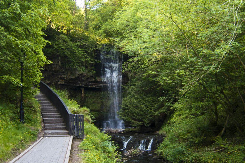 Glencar Waterfall, Co. Leitrim. Credit to cycleireland.ie