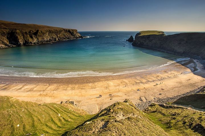 A family friendly spot, Silver Strand is another of the top most beautiful beaches in Donegal.