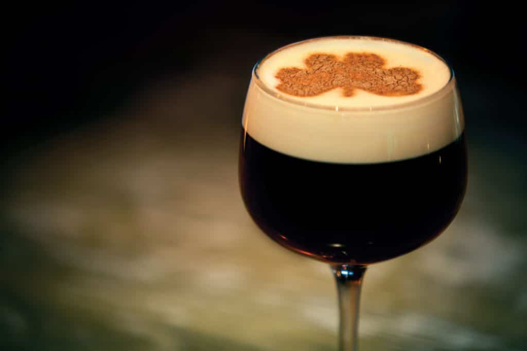 Irish coffee is known worldwide as one of the best ways to drink whiskey.