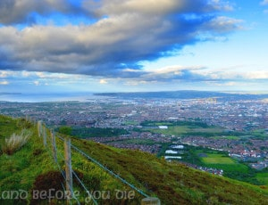 Walk to the top of Divis and Black Mountain and see Belfast like never before….