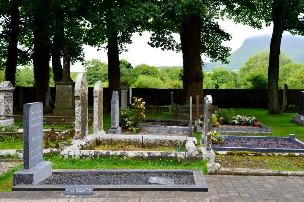 Another one of the best things to do in Sligo is visit W.B. Yeats' gravesite.
