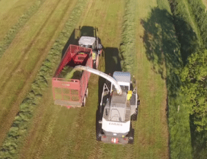 Video: Amazing drone footage of Silage harvest in Co Tipperary