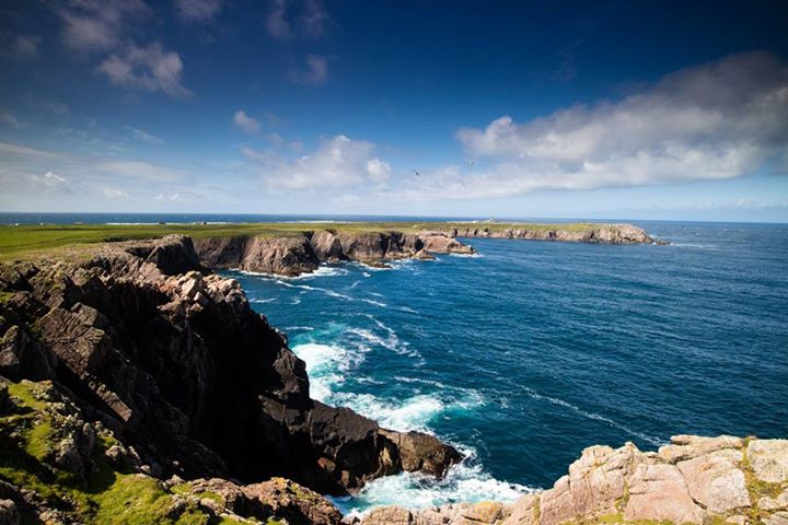 Cliffs of Tory Island, CO. Donegal. Credit to Owen clarke photography