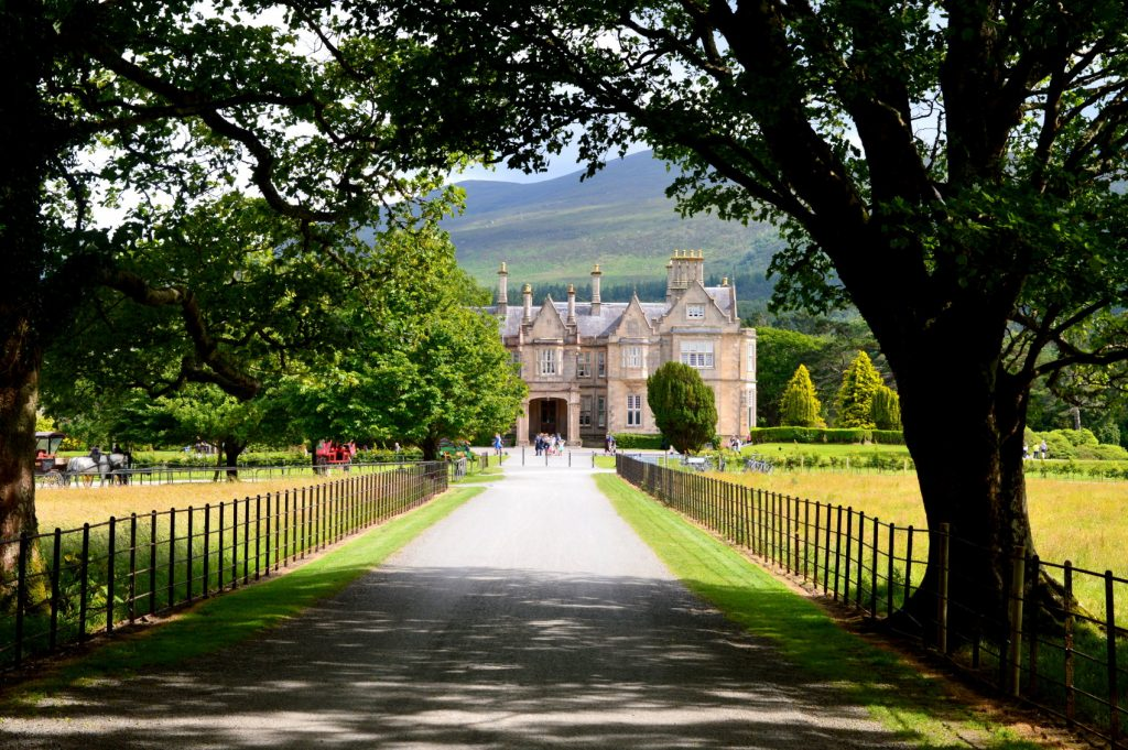 Muckross house is a great spot on the Ring of kerry