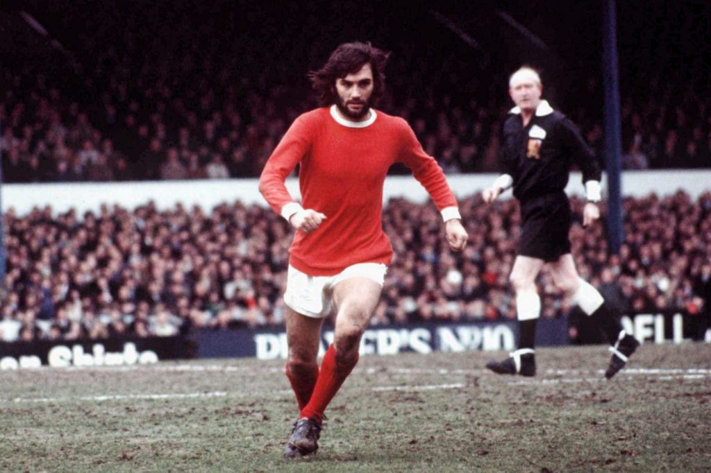 George Best is one of the biggest Irish sports stars from Ireland