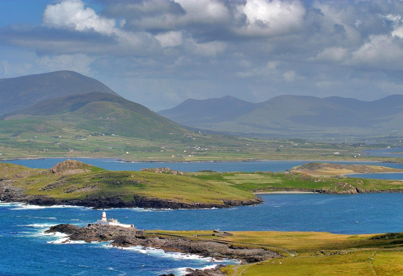 The Ring of Kerry has some beautiful views