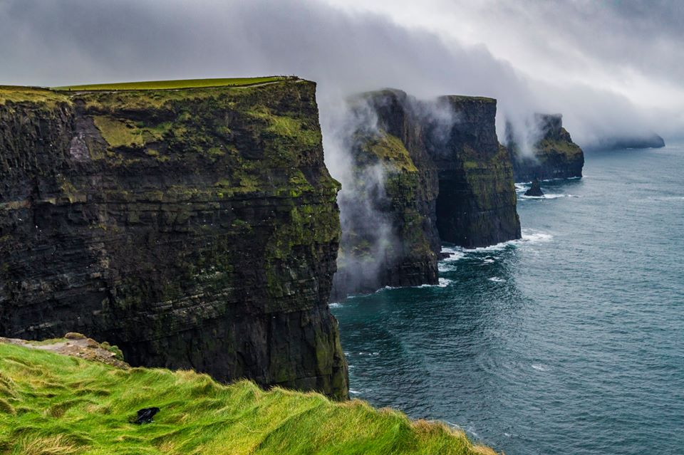 The stunning Cliffs of Moher would be a beautiful place for Ireland's section of the lost kingdom of Atlantis.