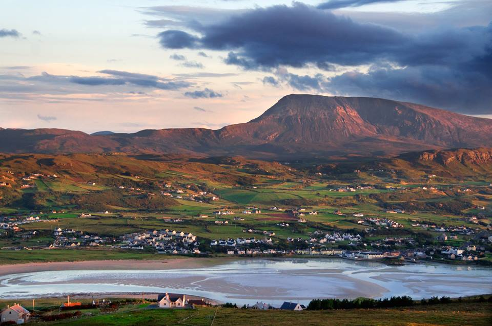 Picturesque Dunfanaghy is a beautiful Donegal village.