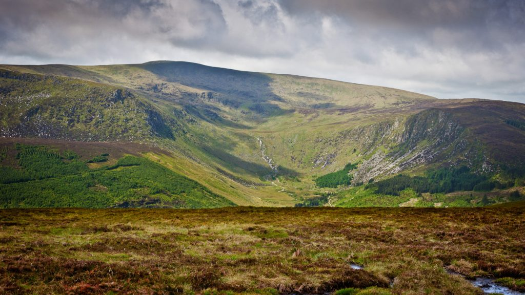 Lugnaquilla is Wicklow's highest mountain