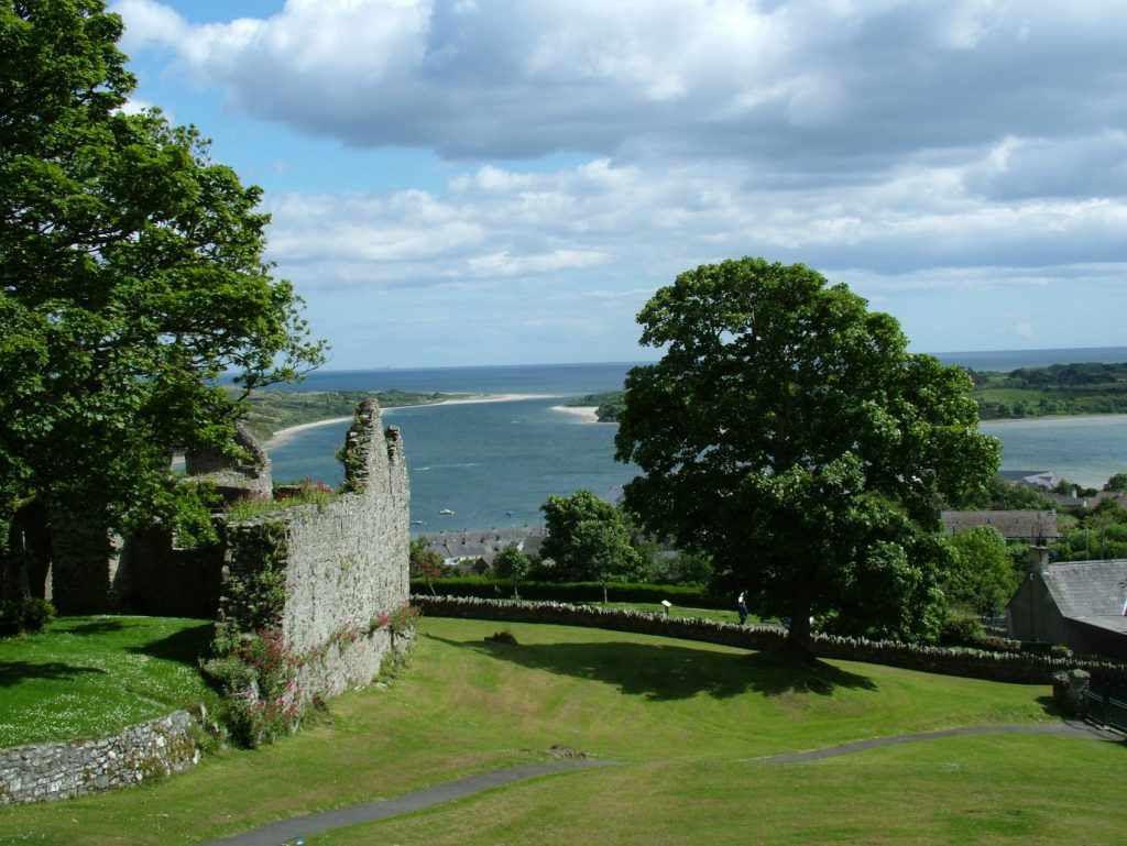 The views from Dundrum Castle help prove that Dundrum is a hidden gem of Northern Ireland