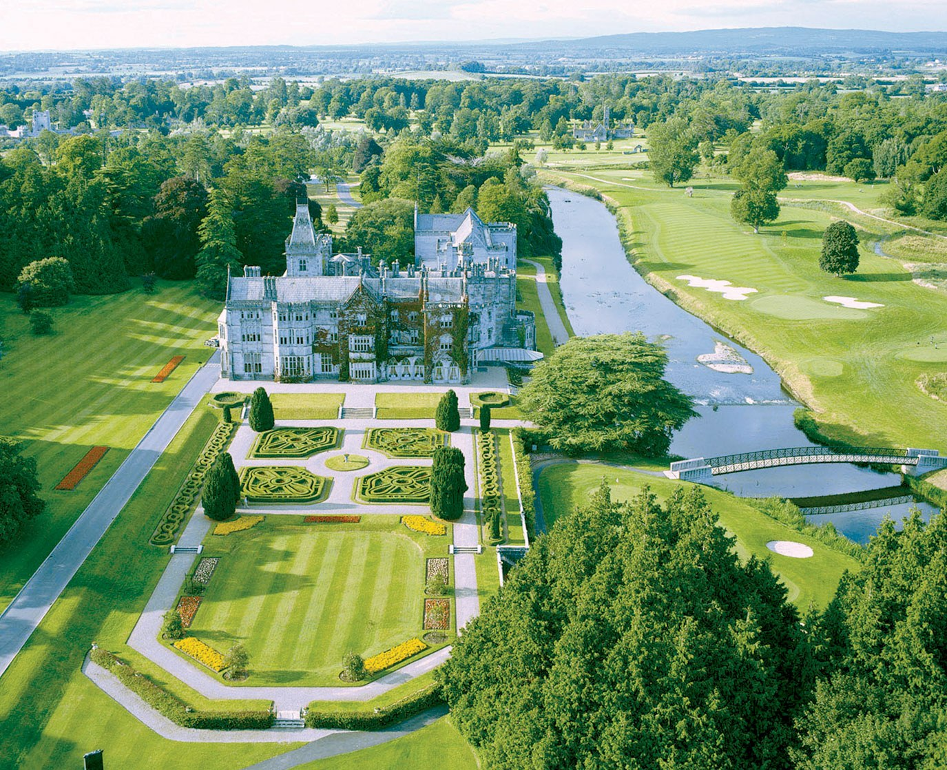 Adare Manor Villas >> Top 10: Irish Hotels Only Lucky People Get To Stay In... | Ireland Before You Die