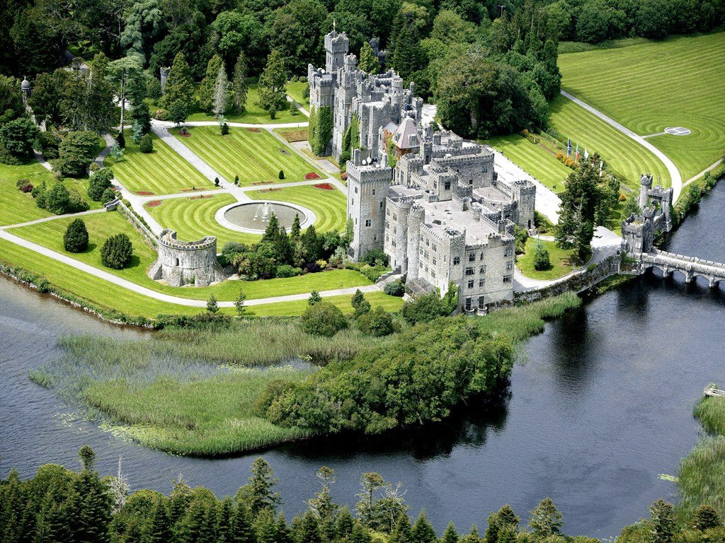 Ashford castle hotel is another of the best castles in Ireland