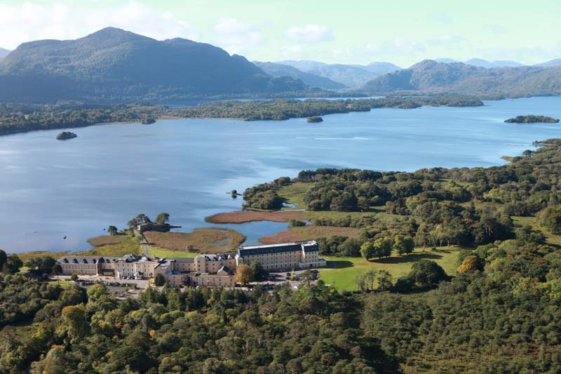 One of the most scenic Irish Hotels