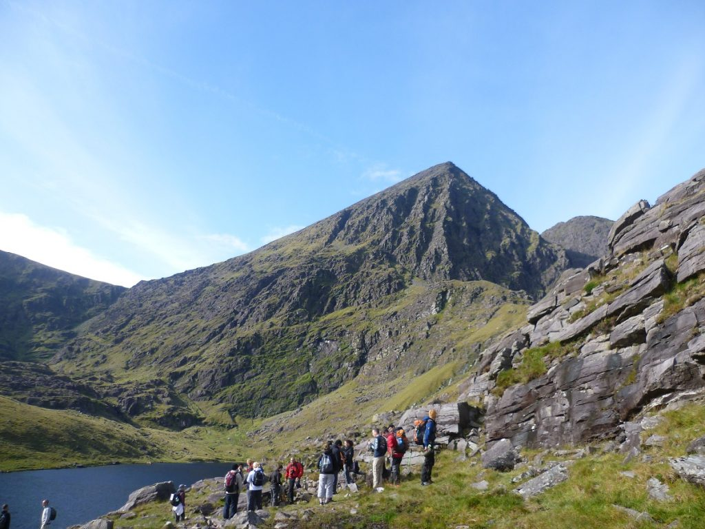 Carrauntoohil is one of the Top 5 amazing outdoor adventures and activities around Killarney.