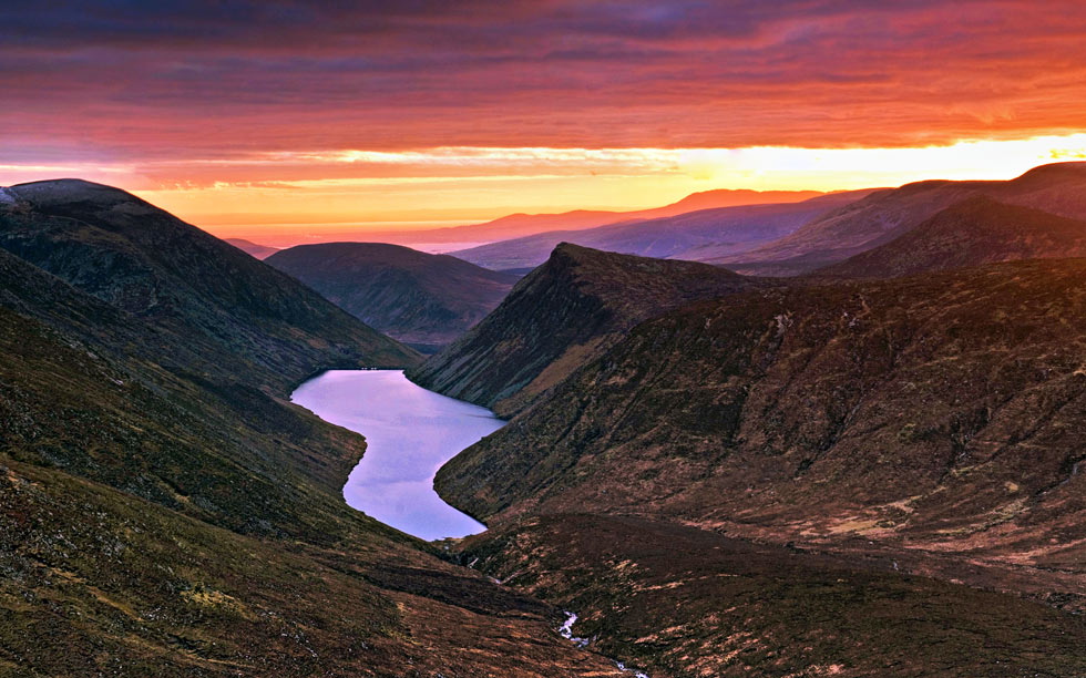 Spend the last day of your two weeks in Ireland in the Mournes. A must on your Ireland road trip itinerary.