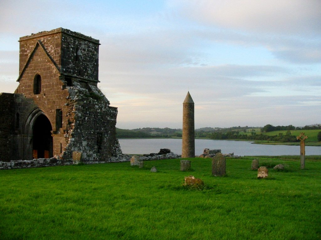 You have to check out Devenish Island.