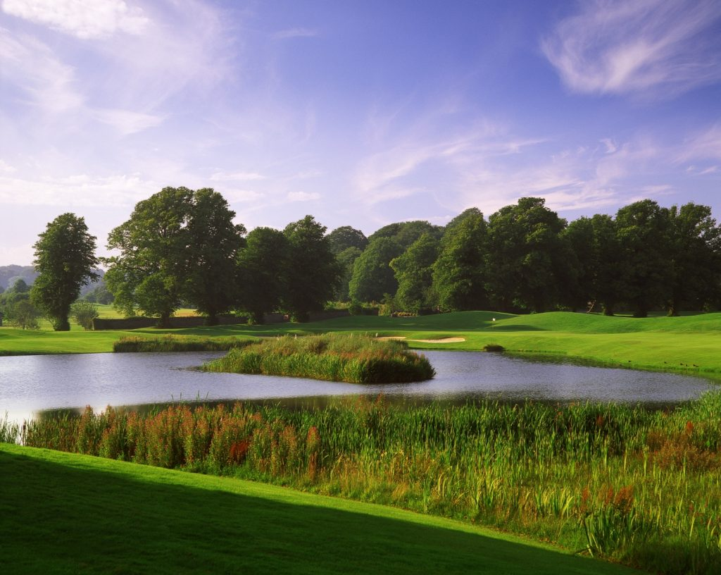 Mount Juliet is a top golf course that is surrounded by beauty.