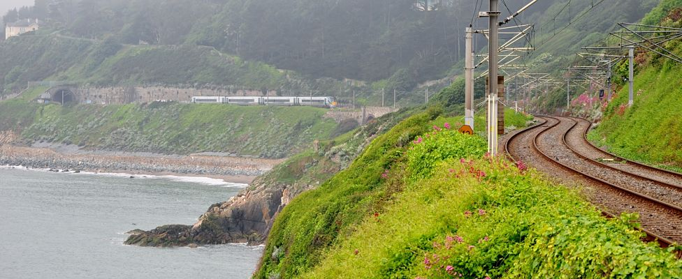Dublin to Rosslare is one of the best scenic train routes in Ireland.