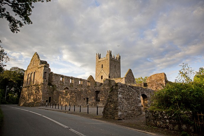 Jerpoint Abbey is a beautiful monastic ruin in Kilkenny.