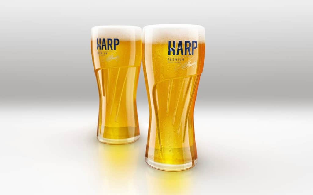 Another of the best Irish beer you need to try is Harp Lager, a must try.